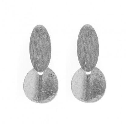 Boucles d'oreilles Aïssata argent