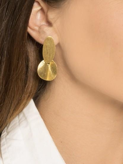 Boucles d'oreilles AÏSSATA or